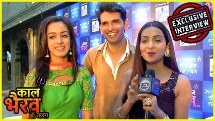 Kaal Bhairav Rahasya Stars EXCLUSIVE INTERVIEW | Star Bharat | Rahul Sharma Chhavi Pandey Sargun | lodynt.com |لودي نت فيديو شير
