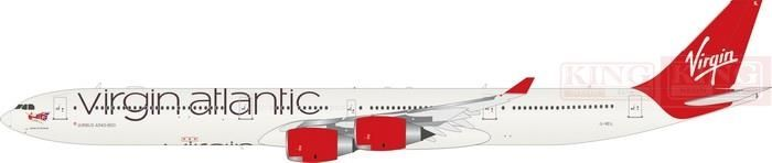 221.47$  Watch now - http://aliwtb.worldwells.pw/go.php?t=32596026359 - Eagle Sale: 100034 virgin the Atlantic Airlines G-VEIL A340-600 1:200 commercial jetliners plane model hobby