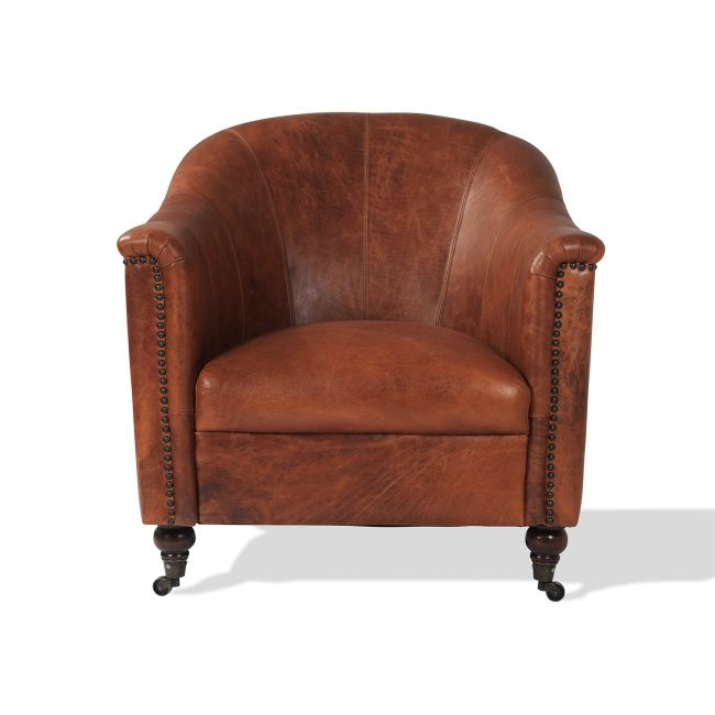 New England Vintage Club Fåtölj - TheHome - Möbler på nätet