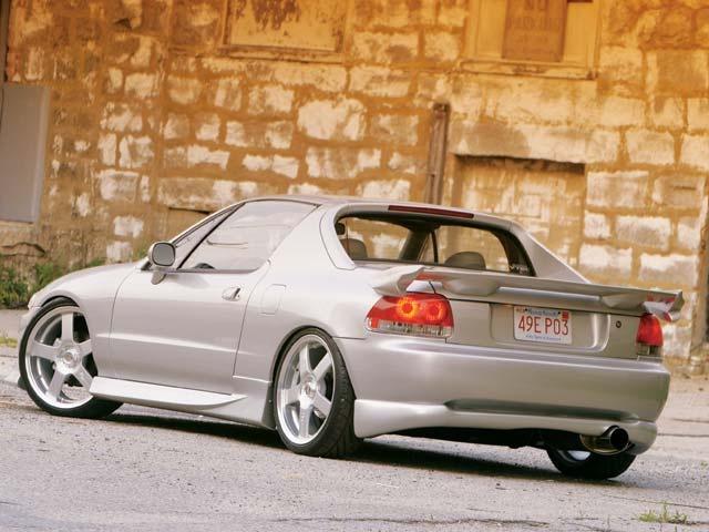 1996 Honda Civic del Sol 2 Dr VTEC Coupe