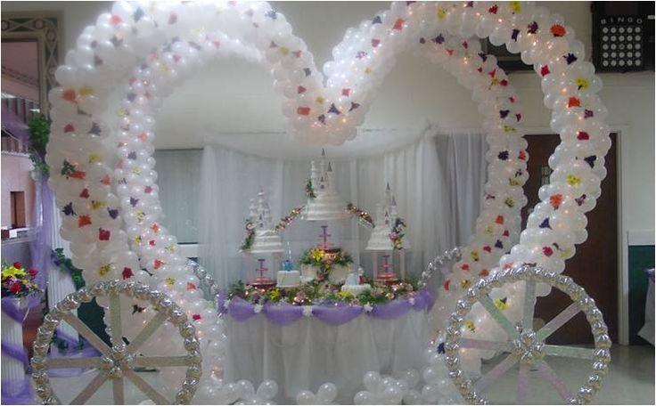 Increibles Adornos con globos para boda.¡Originales diseños!