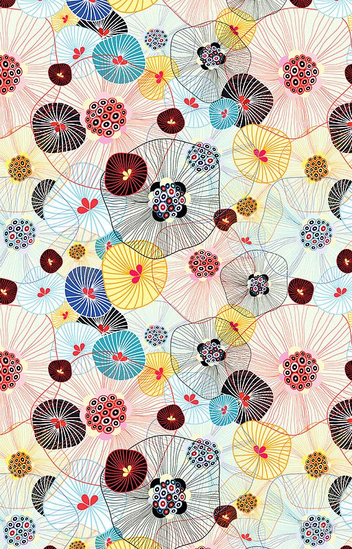 abstract pattern by Tanor