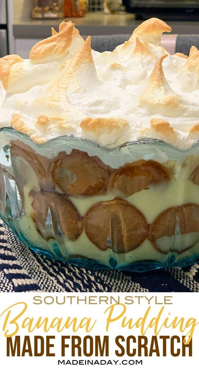 Banana Pudding Recipe With Meringue