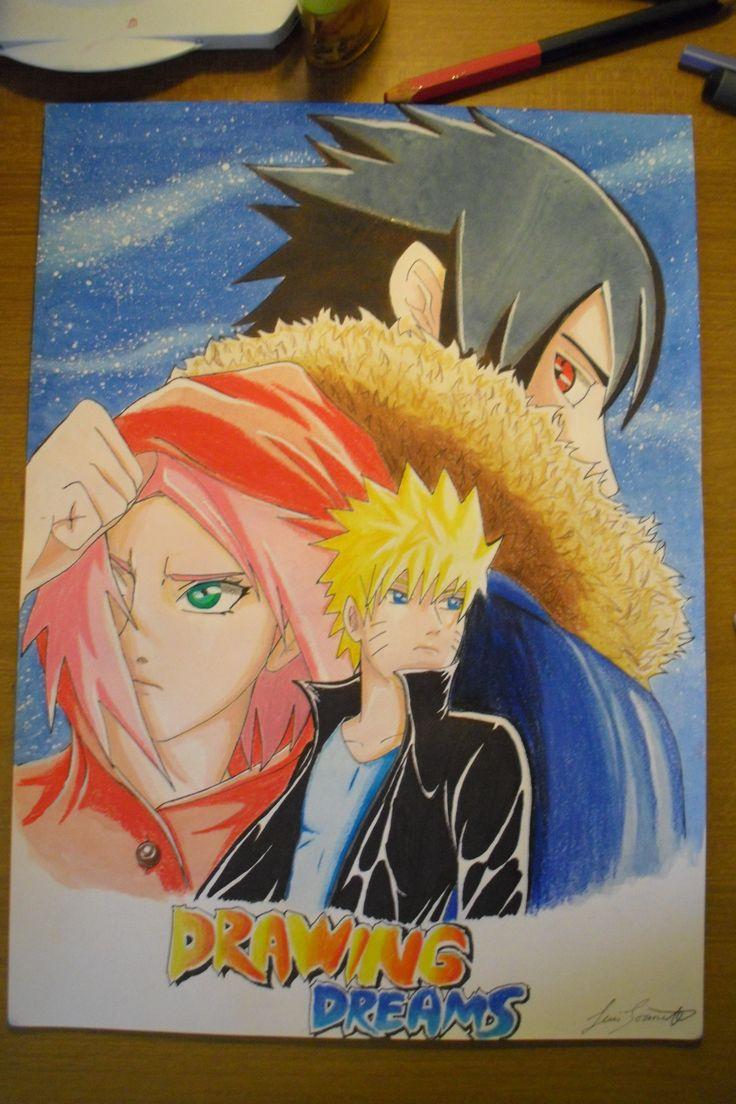 Naruto,Sasuke and Sakura