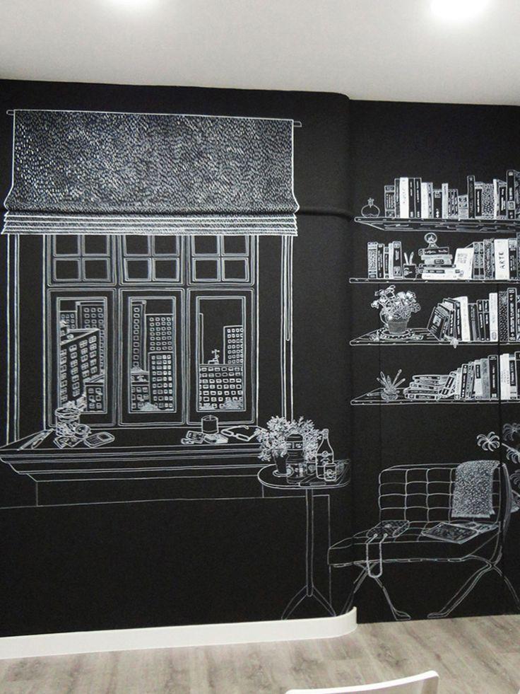 mural despacho