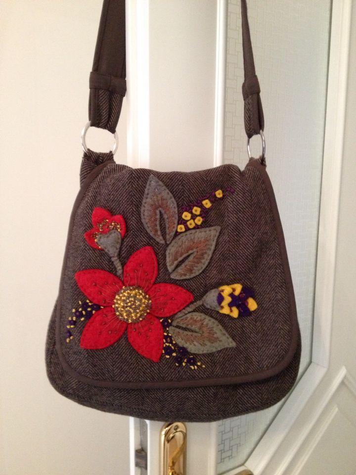 Keçe çanta tasarımım