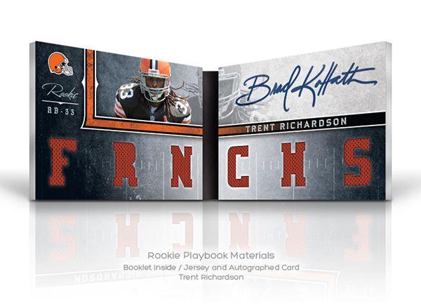 Panini's 2012 NFL Playbook on Behance