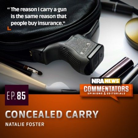 TELL US, why do you carry? NRA News commentator, Natalie Foster tells us the reasons why she chooses to carry a gun: http://www.womensoutdoornews.com/2014/09/nra-news-commentators-concealed-carry-natalie-foster/ ‪#‎concealedcarry‬ ‪#‎NRANewsCommentator‬ ‪#‎Womensshooting‬  NRA News commentator Natalie Foster talks about the reasons why she chooses to carry a gun, and being prepared for whatever life may throw at you.