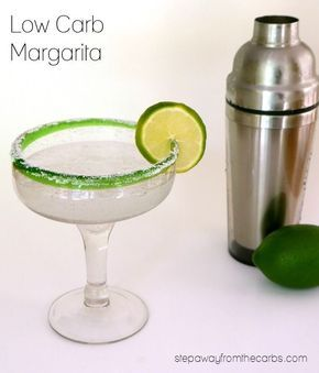 Low Carb Margarita - sugar free and almost zero carb recipe