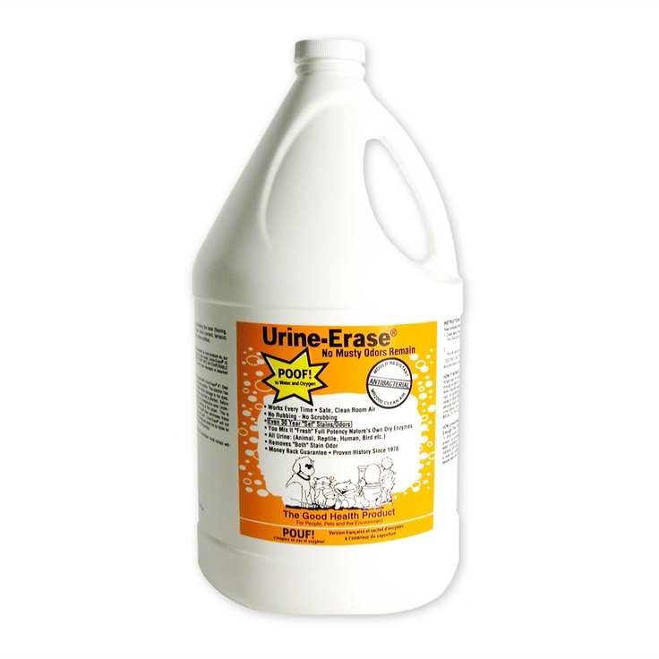 Urine Erase Stain And Odor Remover Is An Enzyme Based