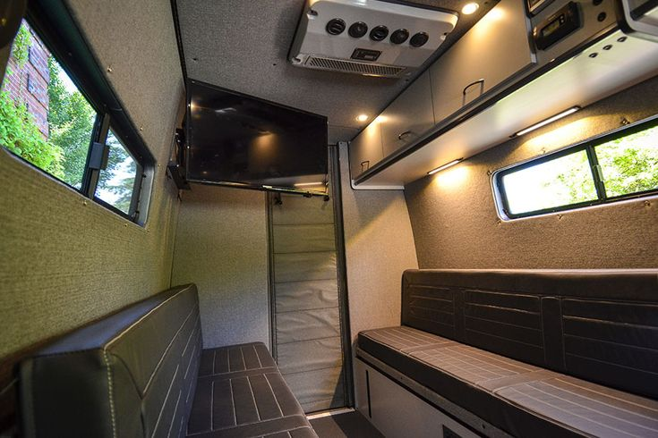 Custom Built Vans Top Air Roof