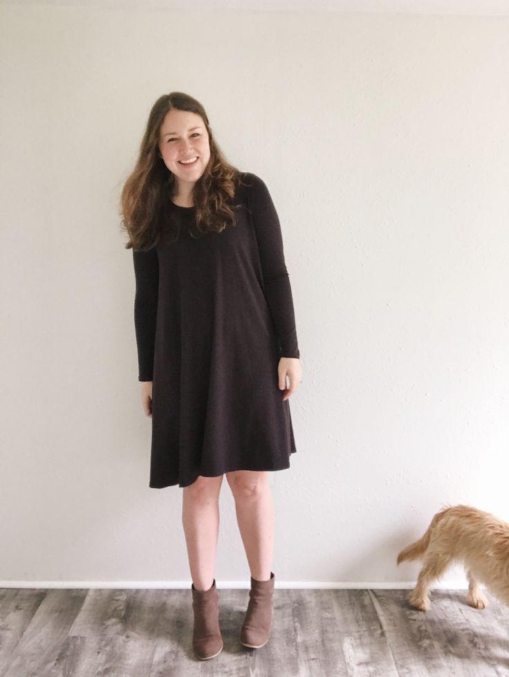 The Ebony Tee & Dress – La Mercerie