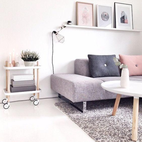 Perfect Nordic Interiors Inspiration; Pastel Living Room