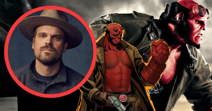 Hellboy R-Rated Reboot Happening with Stranger Things Sheriff -- Game of Thrones director Neil Marshall and Stranger Things sheriff David Harbour are preparing for a remake of Guillermo Del Toro's cult comic book adventure Hellboy. -- http://movieweb.com/hellboy-remake-director-neil-marshall-david-harbour/