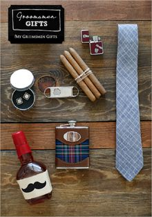 Get Him to the Chapel// In Style Some meaningful + fun gifts for your man the day of your wedding!