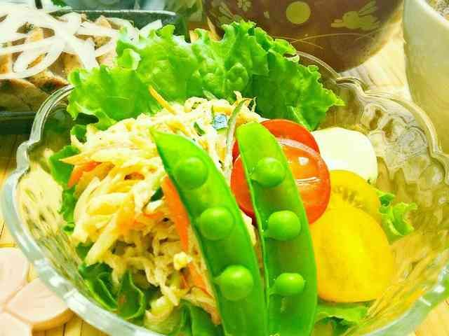 簡単!切り干し大根のオイマヨ胡麻サラダ★の画像