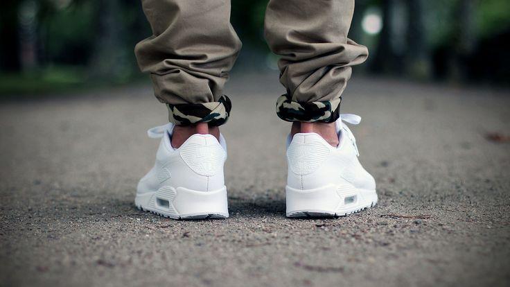 air max 90 full white