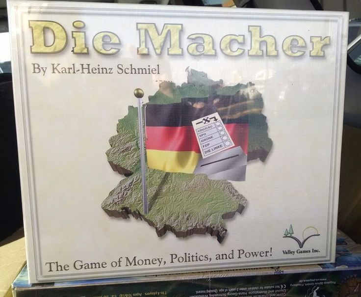 Die Macher Board Game (Valley Games) - English *NEW IN SHRINK* -out of print- | Toys & Hobbies, Games, Board & Traditional Games | eBay!
