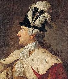 Stanisław August Poniatowski (1732 - 1798). King of Poland from 1764 until 1795. He was the last king of Poland, and failed to prevent its destruction.