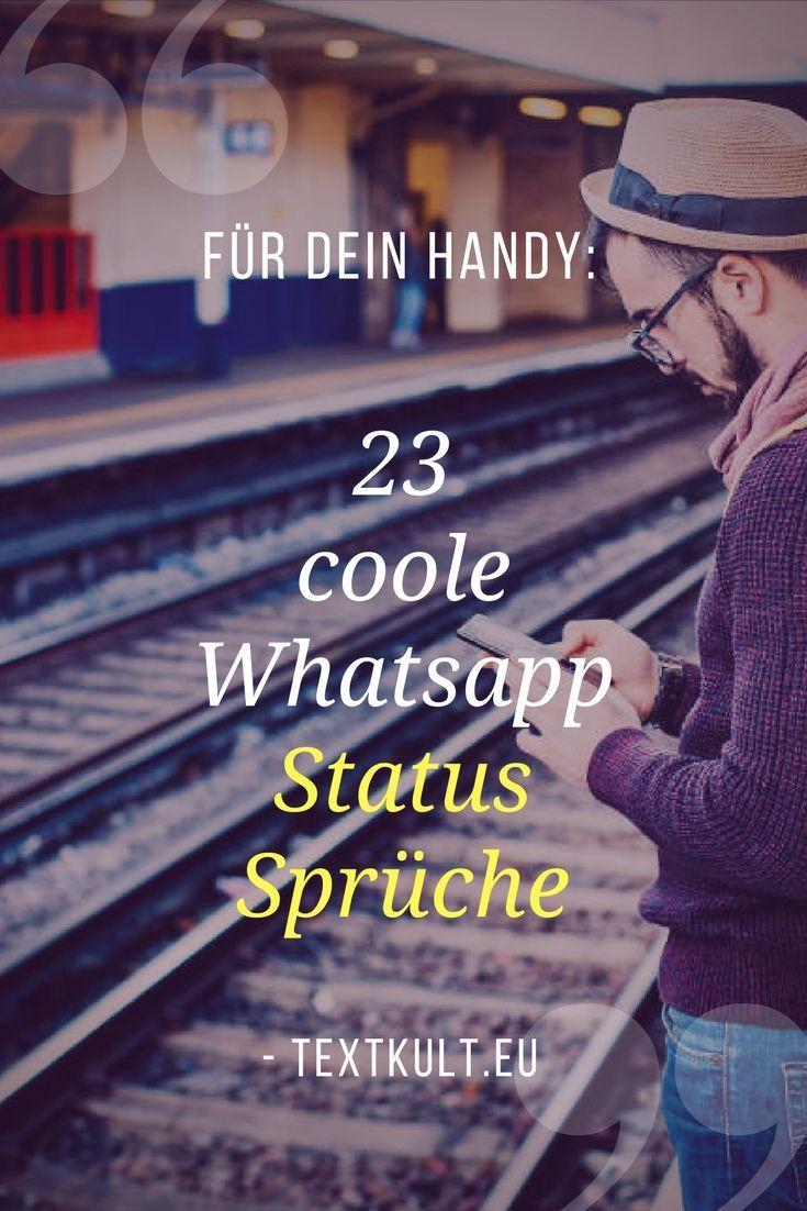 ᐅ 23 Coole Whatsapp Status Sprüche Kopieren Einsetzen