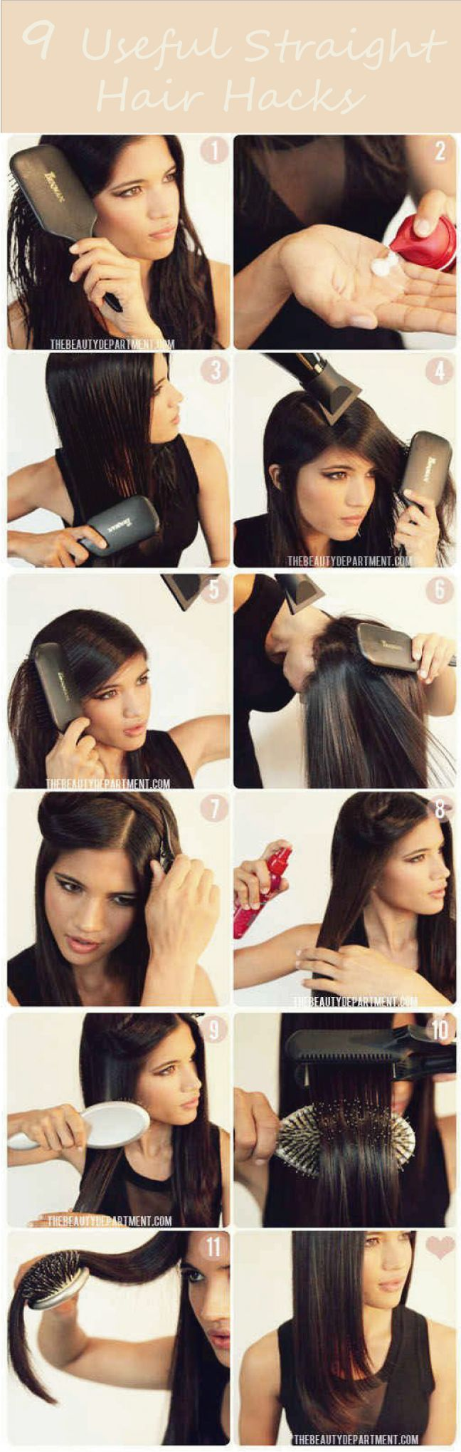 Having nice and straight hair? Need tips and tricks, here we come with a 9 useful straight hair hacks for you. Click to learn more and care for your hair. Rise and shine, babe!