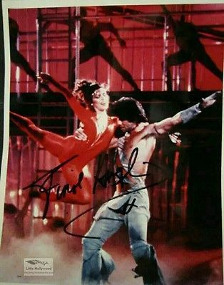 STAYING-ALIVE-Finola-Hughes-8x10-Autographed-RP-lustre-Photo