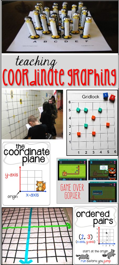 teaching coordinate graphing
