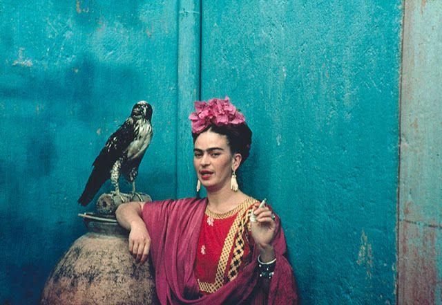 Frida Kahlo em cores