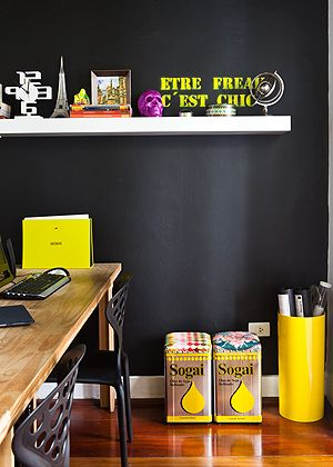 black & yellow - office inspiration