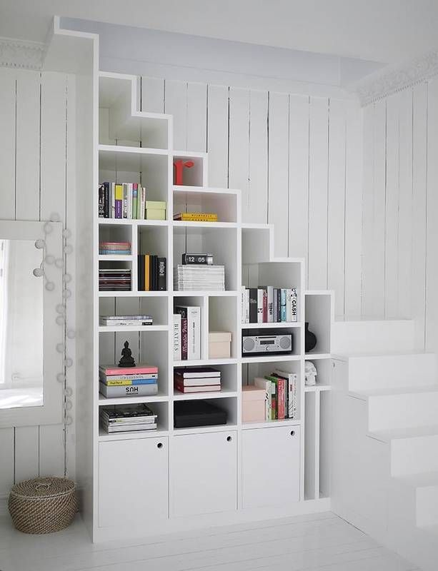 The Best Shelves for Small Spaces Under Stairs
