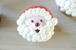 [크리스마스 컵케익] 산타 컵케익 / 버터크림 컵케이크 만들기 : 네이버 블로그