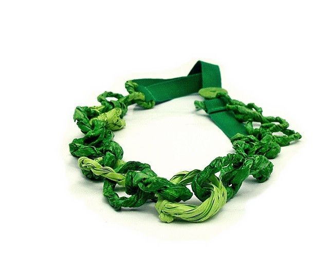 double green chain - necklace
