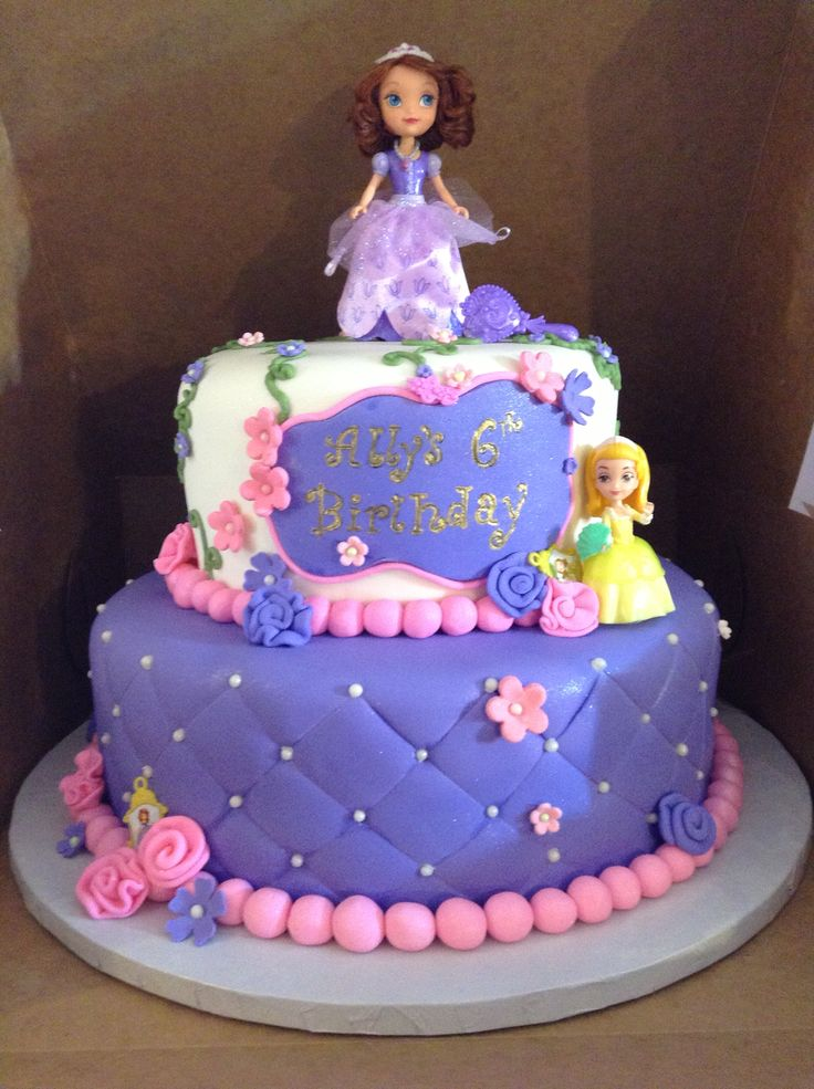 Cake Images Of Sofia The First : 88 best images about Cakes - Princess Sofia the First on ...