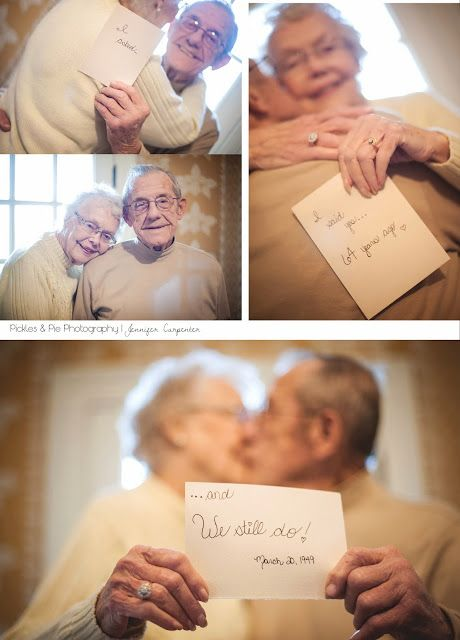 64 years of marriage - SO sweet!