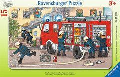 Mein Feuerwehrauto Puzzles;Kinderpuzzle Ravensburger