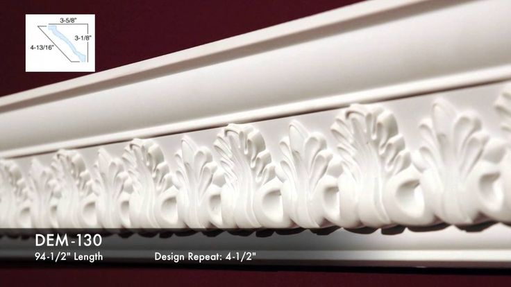 Decorative Cornices Series 3. Find more information at: http://www.outwater.com/lg_display.cfm/page/T-6/catalog/2016_Master_Catalog