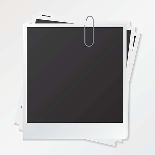 Шаблон рамки кадр фото вектор скачать