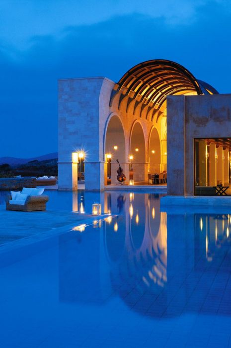 The Blue Palace, Isle of Crete, Greece
