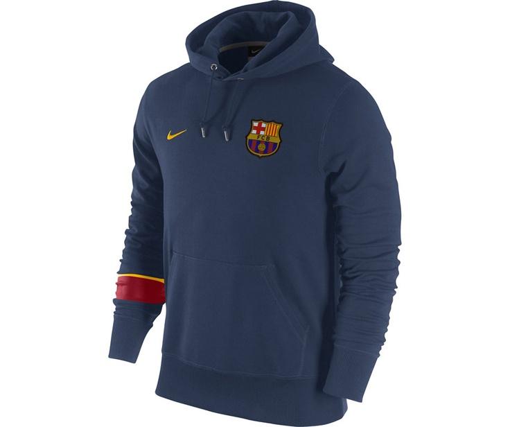 Nike Erkek Sweatshirt Barcelona