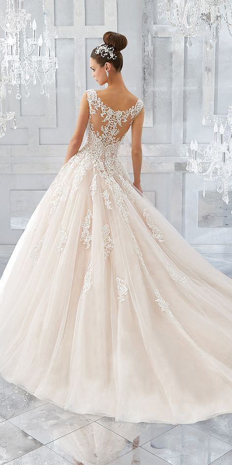 Mori Lee Wedding Dresses And#8211; 2018 Collection ❤ See more: http://www.weddingforward.com/mori-lee-wedding-dresses/ #weddings