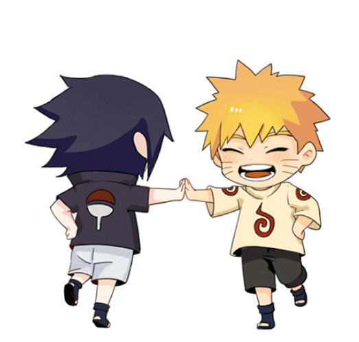 """You and I both knew before our fists met, all this time, though we never said out loud, that we were friends."" Naruto & Sasuke; Friend! – Naruto E132"