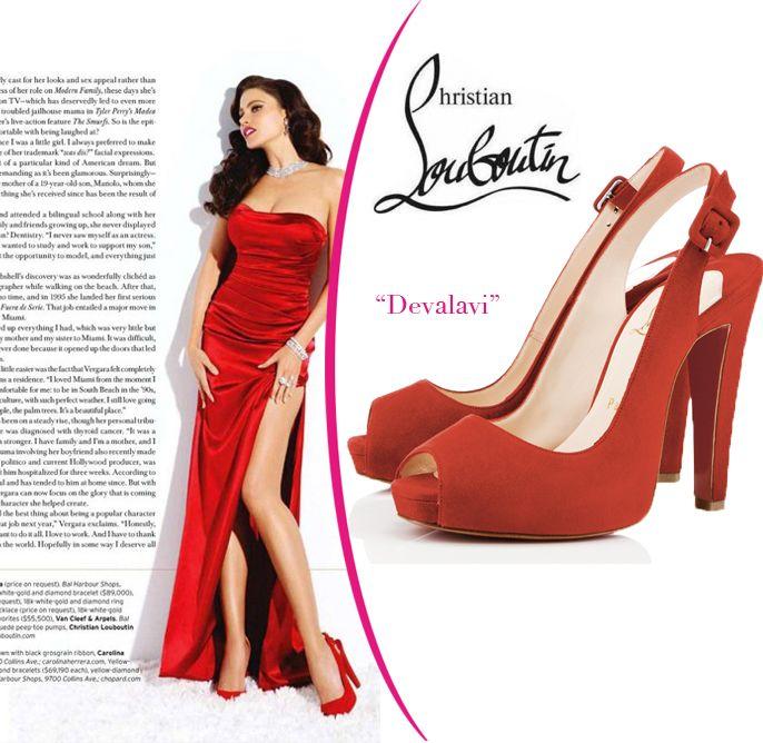 fashion hermes purses collection off sale hotsaleclan com Sofia-Vergara-in-Christian-Louboutin [CELE140] - $219.00 : Discount Handbags - designer shoes and discount handbags store