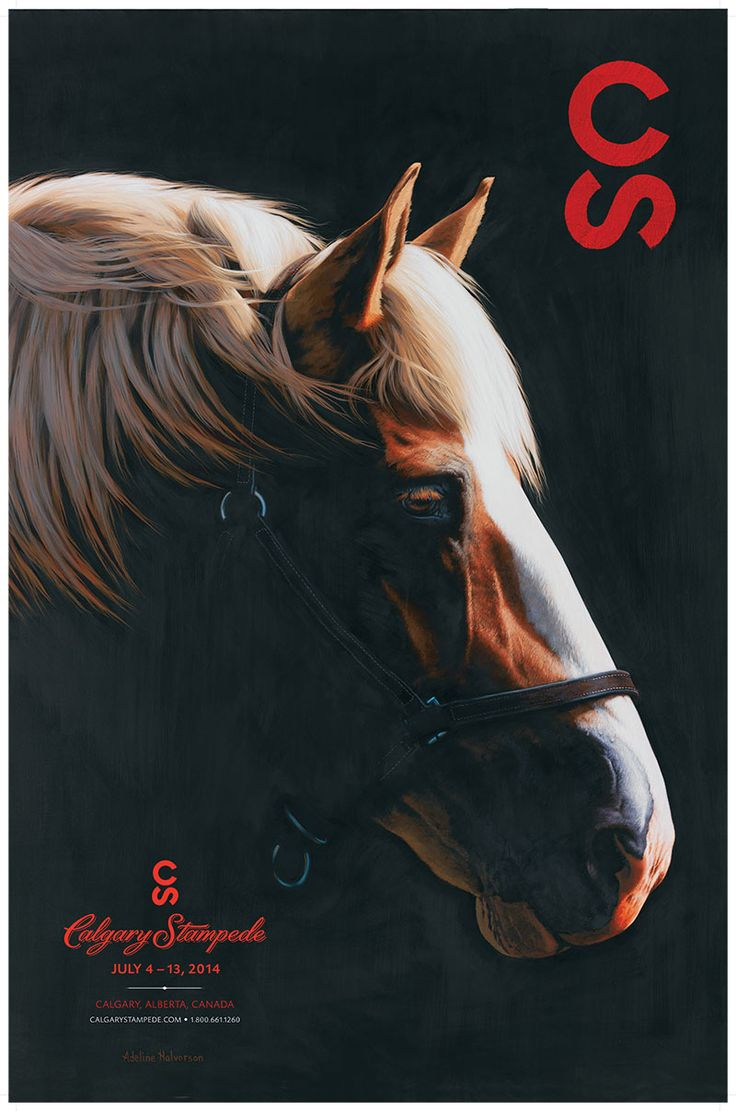 Parade Of Posters - Calgary Stampede 2014