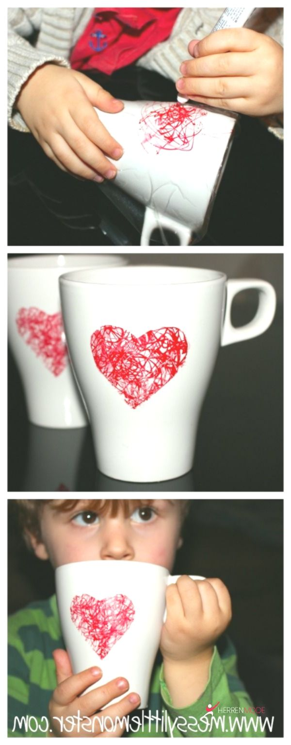 Heart Scribble Mug – Herren Mode