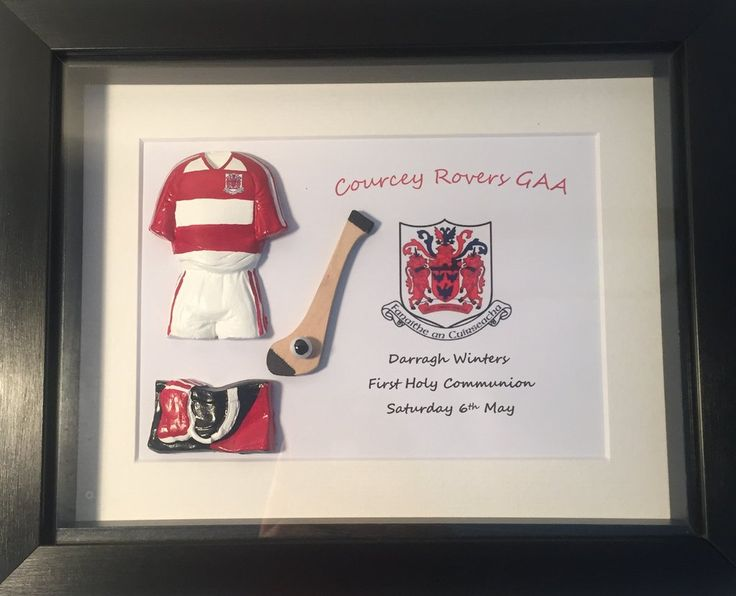 Single Player Hurling Framed Gift