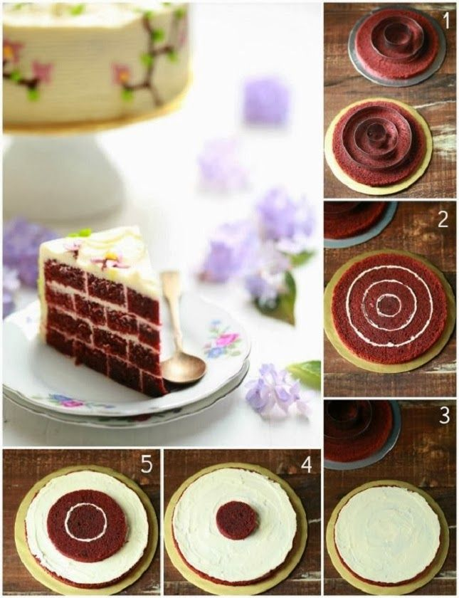 Awesome Food How To Make A Brick Cake Checkerboard Cake Cake Decorating Tips Inside Cake