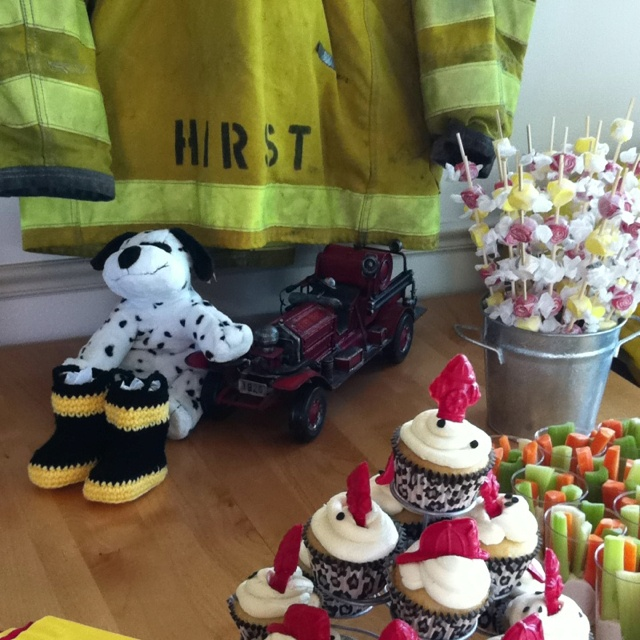 our fireman themed baby shower baby shower ideas pinterest