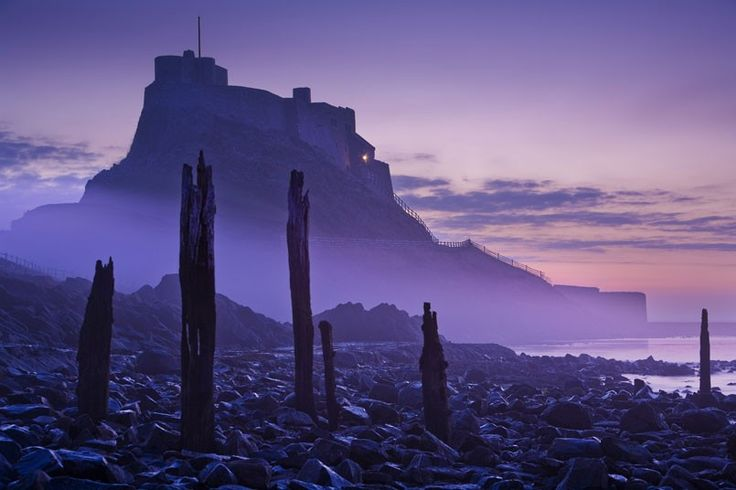 Lindisfarne, Northumberland, England  Picture: Gary Waidson / Rex Features