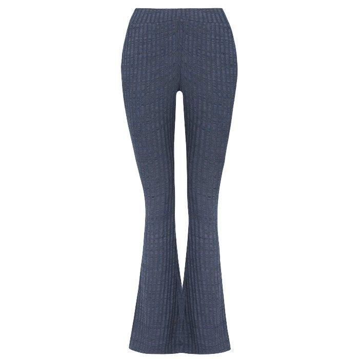 Legging wijde pijpen donkerblauw ✔