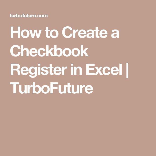 De  Bedste Ider Inden For Checkbook Register P